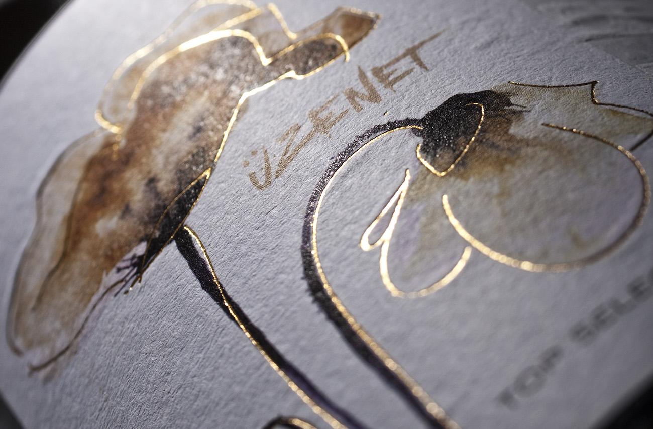 Angyal borászat arculat logója