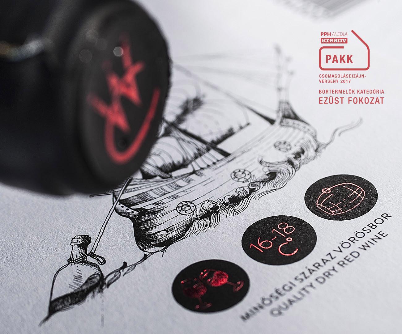 Creatura Wine borászat arculat logója