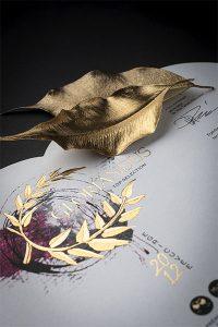 Creatura Wine Gloriandus egyedi borcímkéje